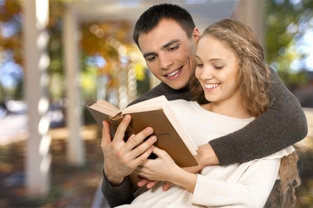 Couple Reading Bible Together